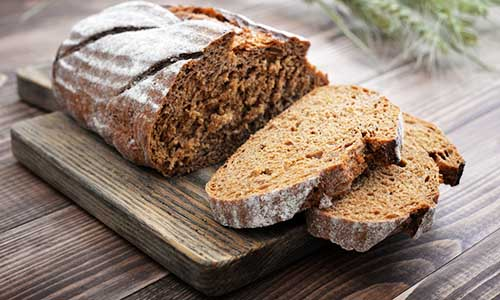 ... longer shelf life than many other fresh breads eating rye bread after